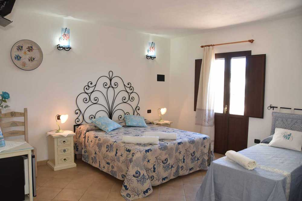 Camera Corallo - b&b MARE ISOLE